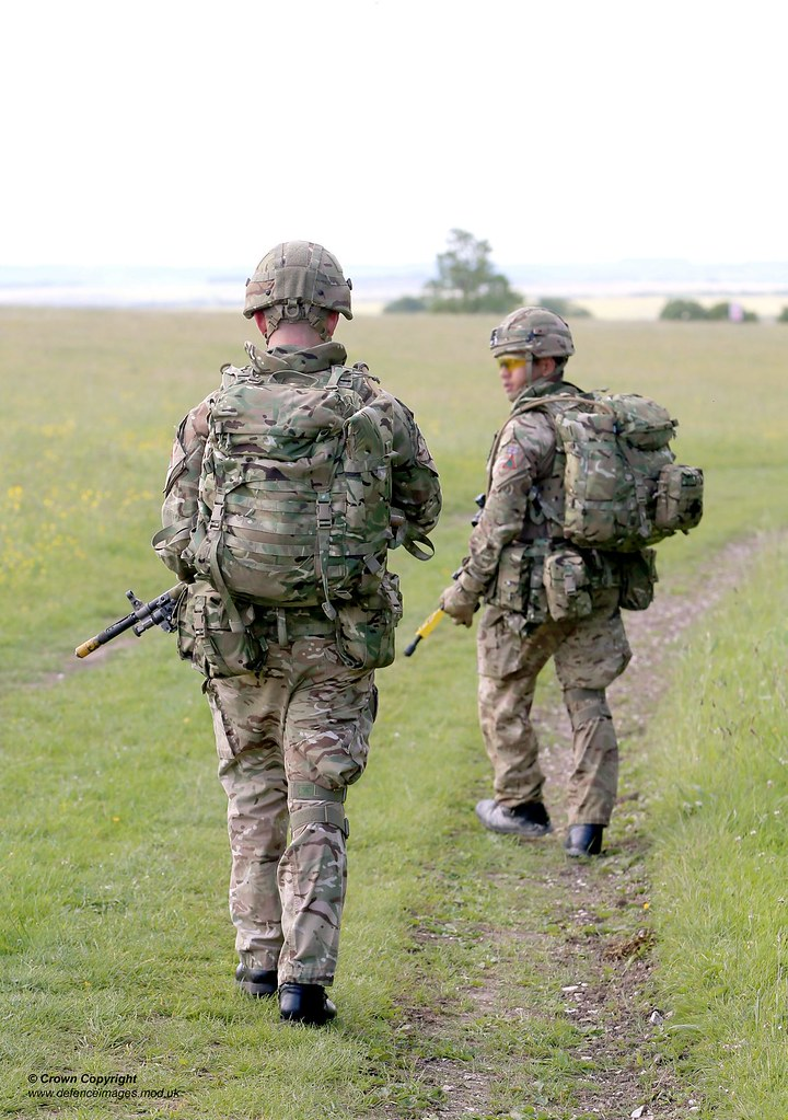 Pictured Are Troops Wearing The New Virtus Body Armour And