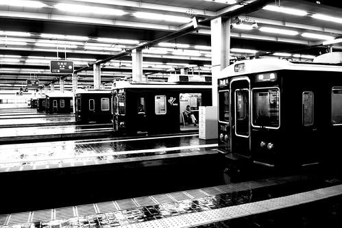 Umeda Station (Hankyu) on NOV 27, 2016 (1)