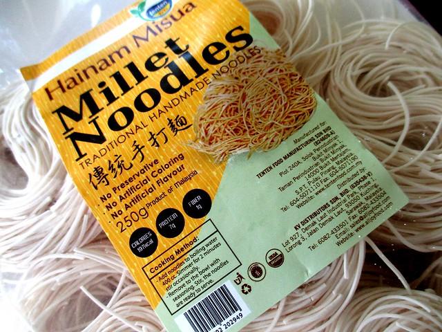 Penang-made millet noodles