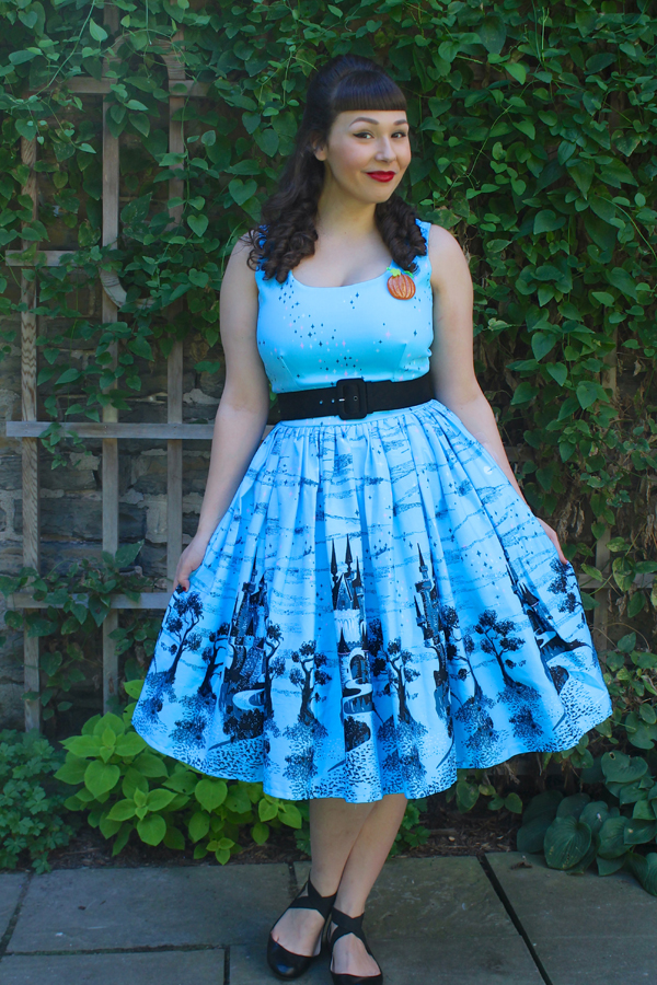 pinup girl clothing castle dress