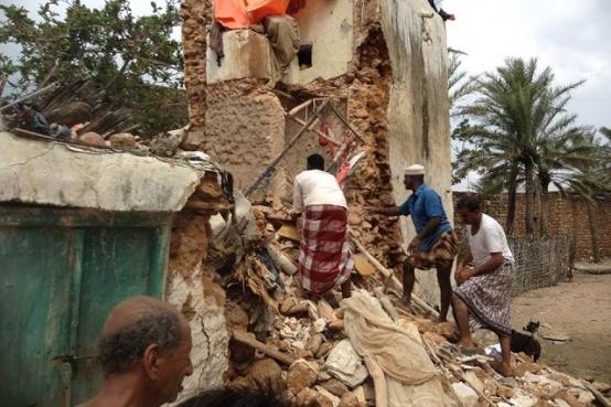 Socotra ha quedado devastada tras dos ciclones en noviembre de 2015