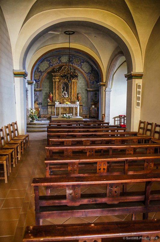 Interior del santuario de Bellmunt