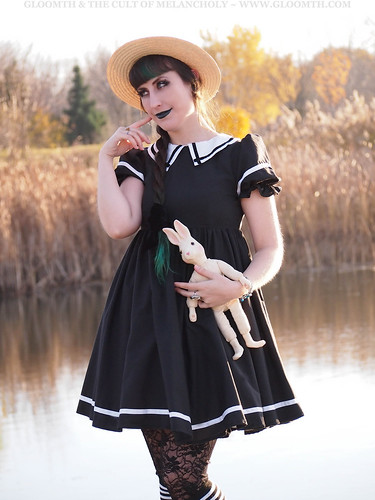 goth sailor dress gloomth