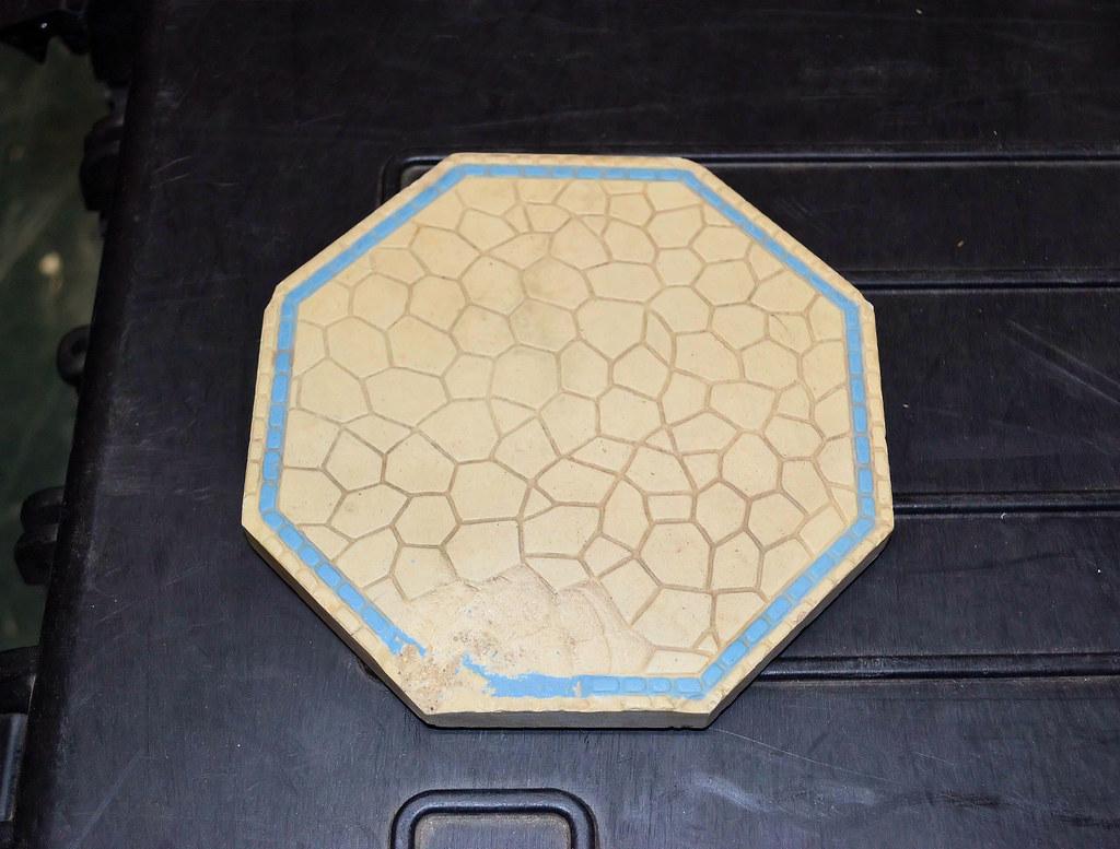 White Ceramic Tile Kitchen Countertops