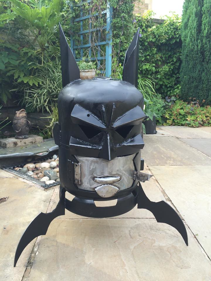 Wood burners & fire pits by Burned by Design - Batman