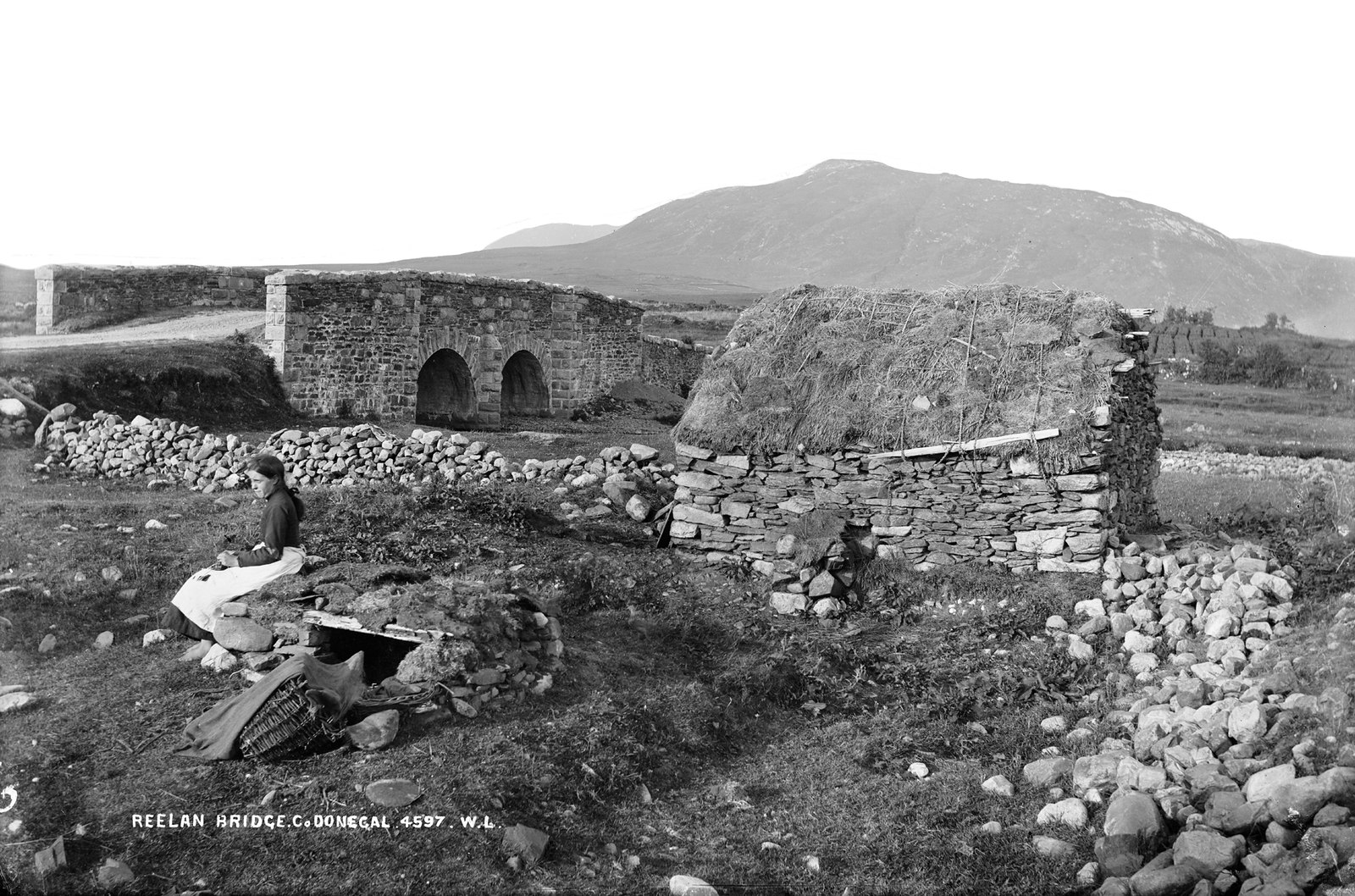 """Reelan Bridge, Lifford"" is actually the ""Dry Arch"" in Straboy, Co Donegal 