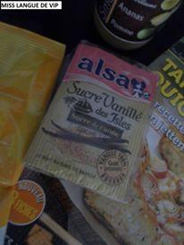 sucre vanillé des Isles ALSA