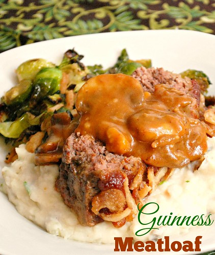 What's Cookin, Chicago?: Guinness Meatloaf with Creamy Mushroom Gravy