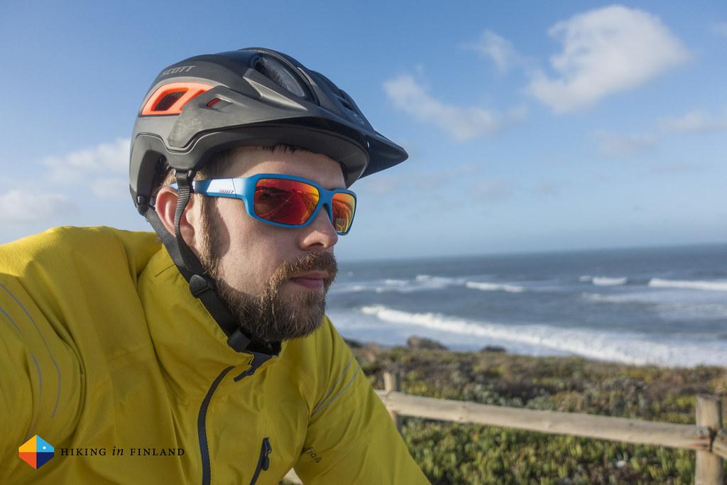 Mandatory cycling selfie