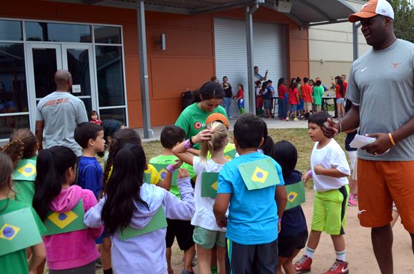 UTES Celebrates Olympic Day