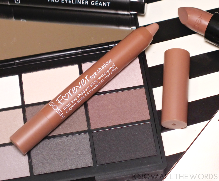 gosh forever matte eyeshadow stick nougat (1)