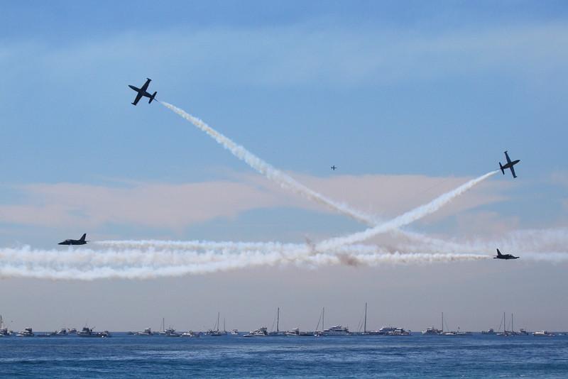 IMG_4127 Breitling Jet Team, Breitling Huntington Beach Airshow
