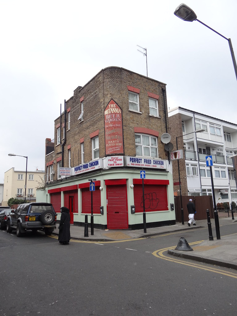 East London: Former Britannia Pub Shadwell