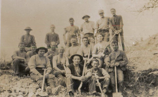 A digging party at Sailly-au-Bois