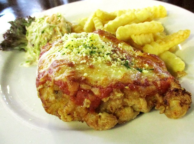 Eco Delite chicken parmigiana