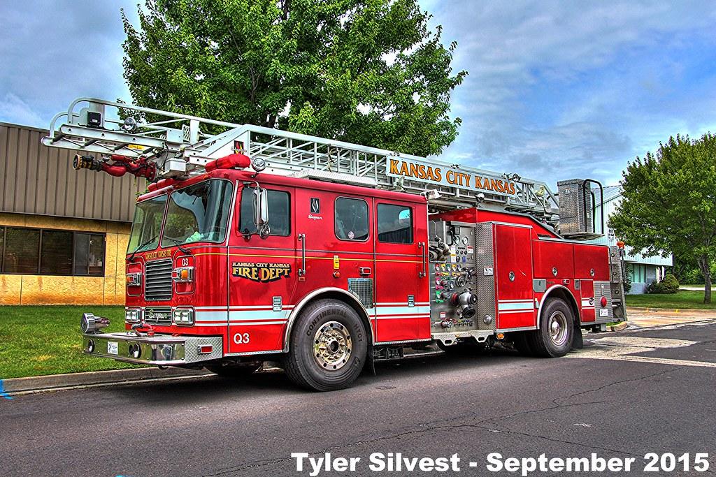 Quint 3 Kansas City Kansas Fire Department S Quint 3