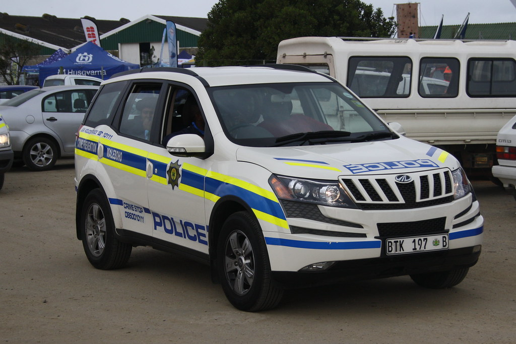 South African Police Mahindra Xuv500 Bob Adams Flickr