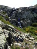 Cascade du vallon du Lomentu en amont de la source de Trighjone