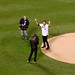 Mike Piazza Ceremonial First Pitch