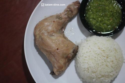 Paket Nasi + Ayam Pop - Rp30.000