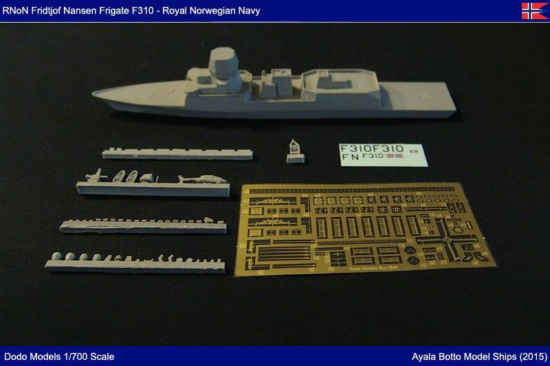 Frégate HNoMS Fridtjof Nansen F310, Dodo Models 1/700 22878025807_12d394e939_o