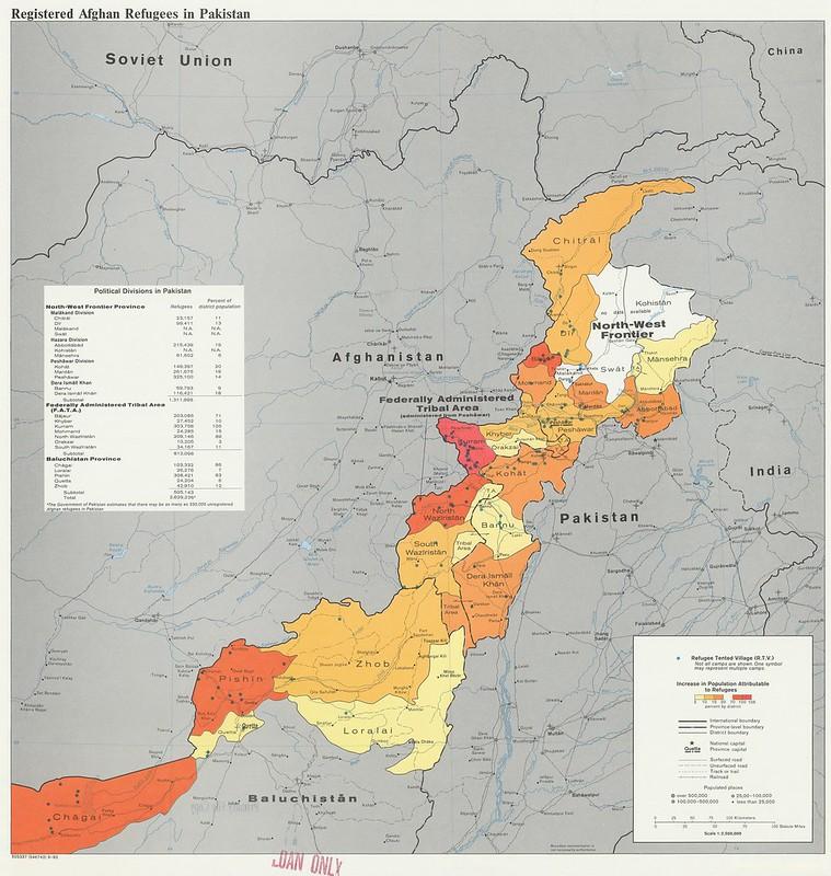 1982 Pakistan Afghan Refugees
