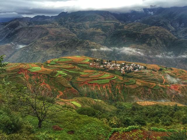 Tierras rojas de Donchuan (Yunnan, China)