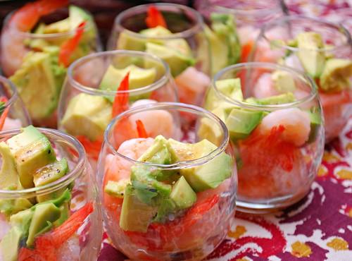 Shrimp & Avocado Cocktail Salad