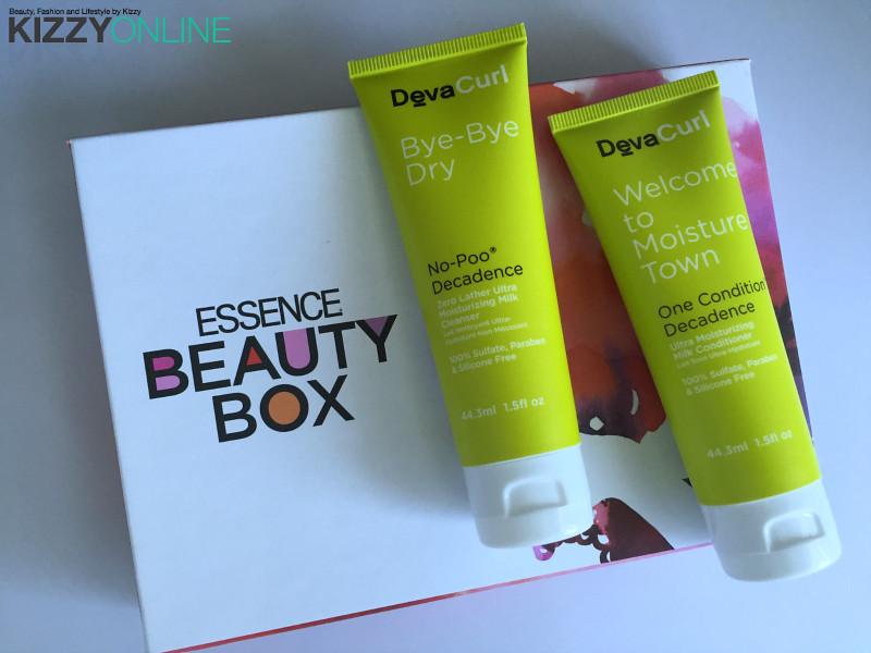 DevaCurl ESSENCE beautybox subscription beauty box