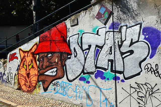 Graffiti, Lisbon, Portugal