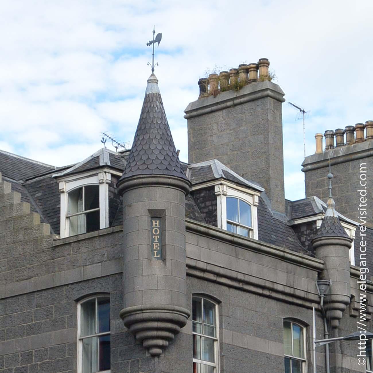 grey granite architecture