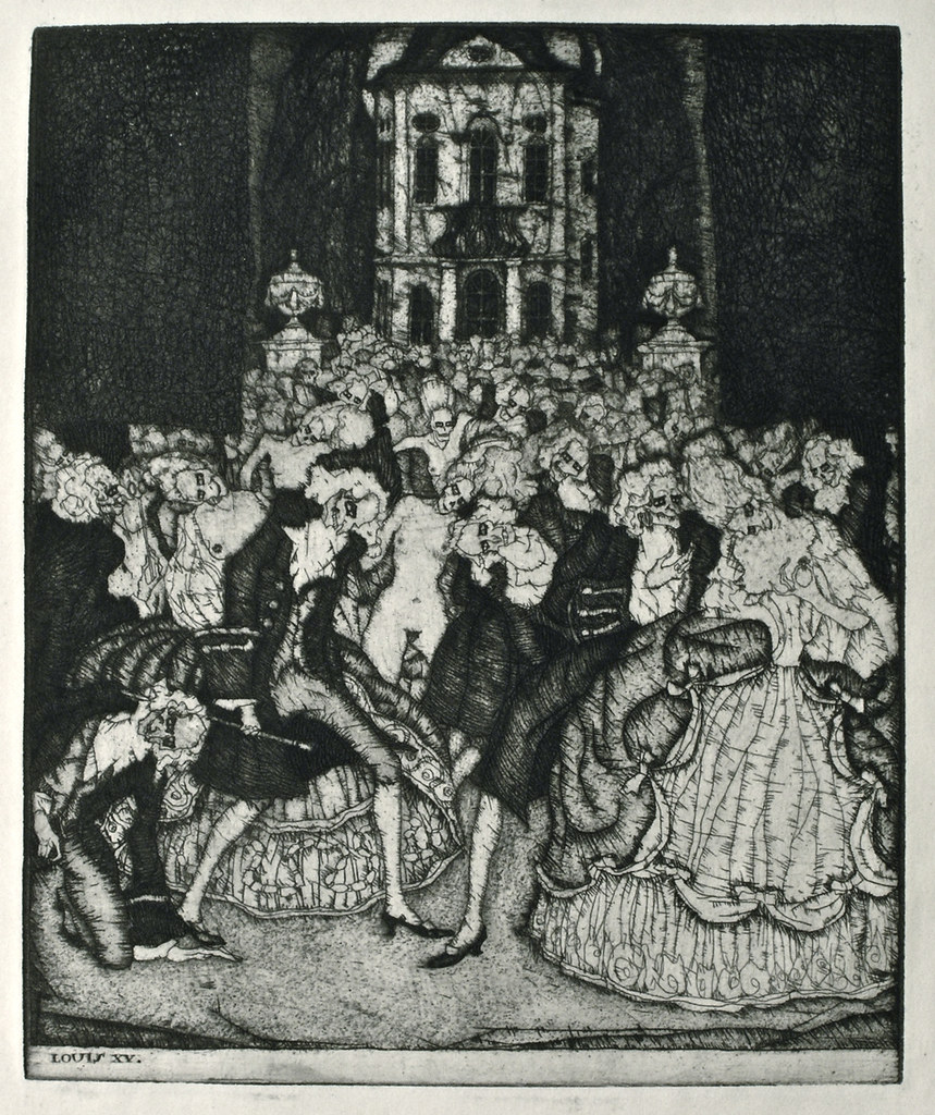 Stefan Eggeler - Illustrations for Hanns Heinz Ewers's Die Herzen der Könige, 1922 (3)