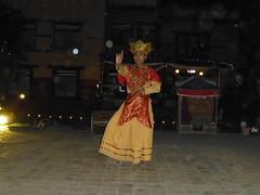 Nepalesischer Tänzer
