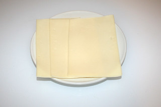 11 - Zutat Gouda / Ingredient gouda cheese