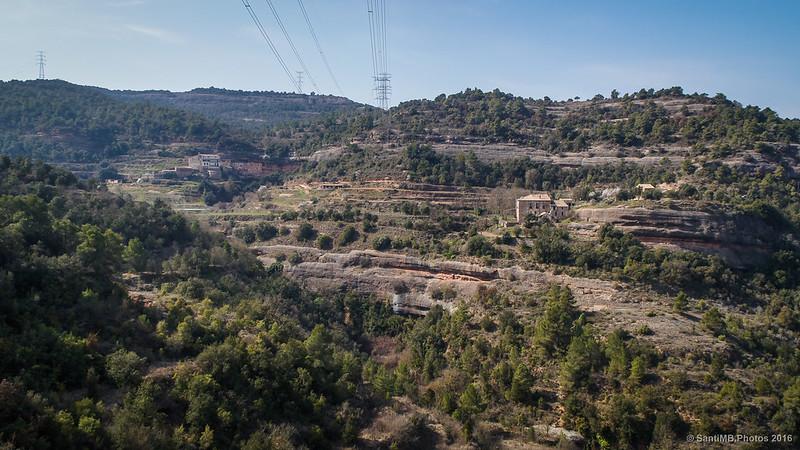 El Puig de la Balma desde el camino a Montserrat