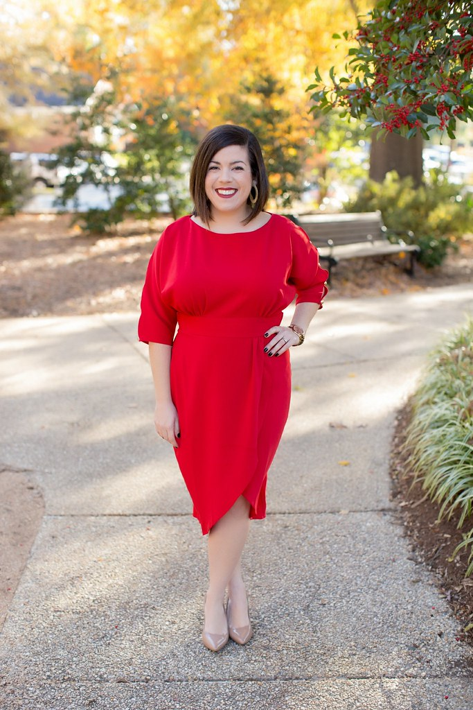 Red Dress-@akeeleywhite-Head to Toe Chic