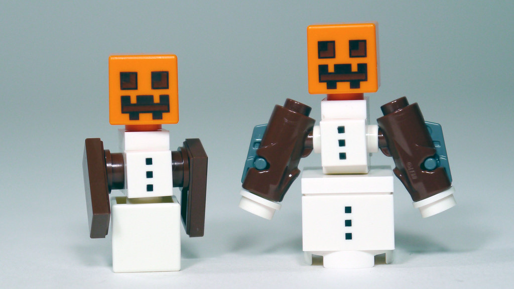 LEGO Minecraft Snow Golem | Watch my review of the 2015 LEGO ...