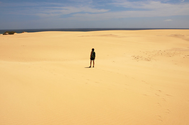 Expansive Corralejo dunes, Corralejo, Fuerteventura