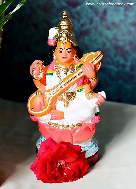 Saraswathi idol