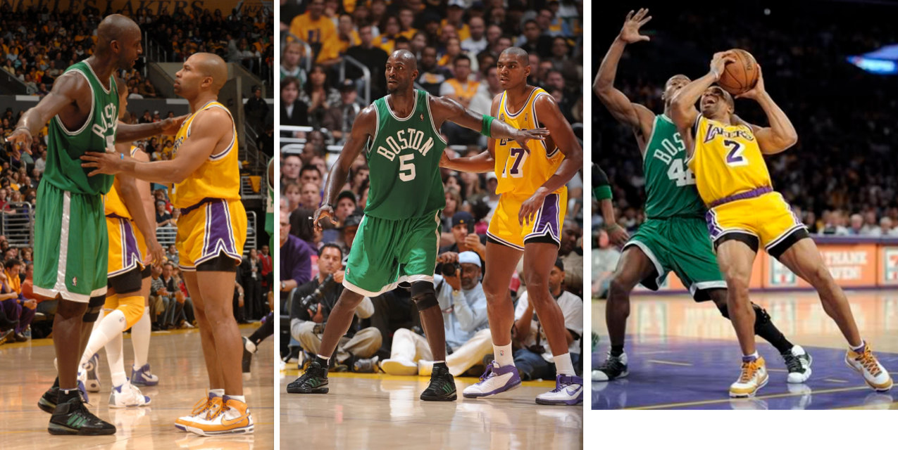 4a459e7563a6 A Look Back at the Lakers  2007 Throwback Short Shorts