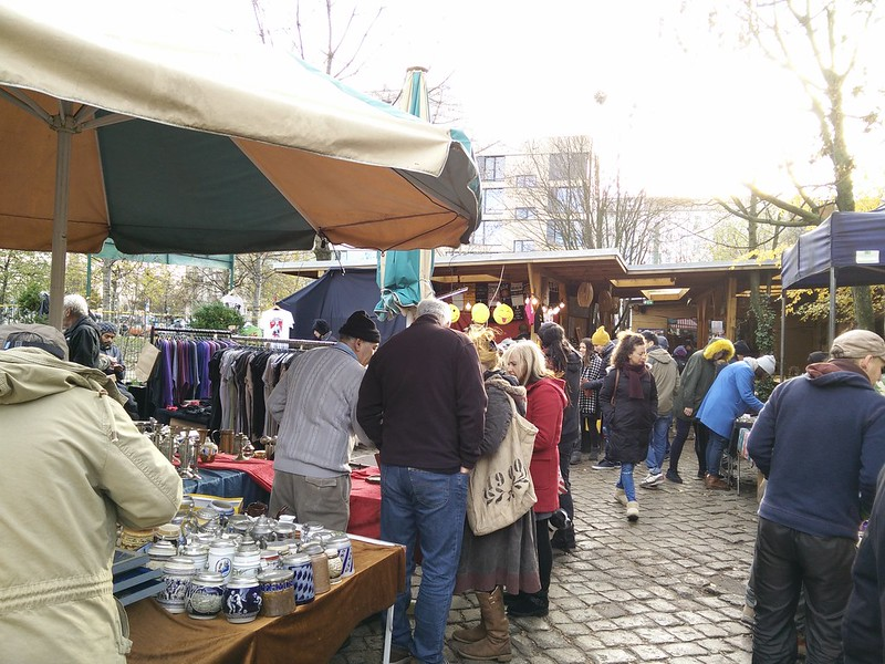 Mauerpark flea market - 7 Free Things To Do in Berlin | packmeto.com