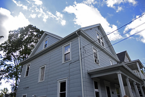 This house on Marguerite Avenue is the first one to be weatherized by the Green & Healthy Homes Initiative Greater Syracuse. A $1 million grant from New York state Attorney General Eric T. Schneiderman will go toward improving more than 200 homes.
