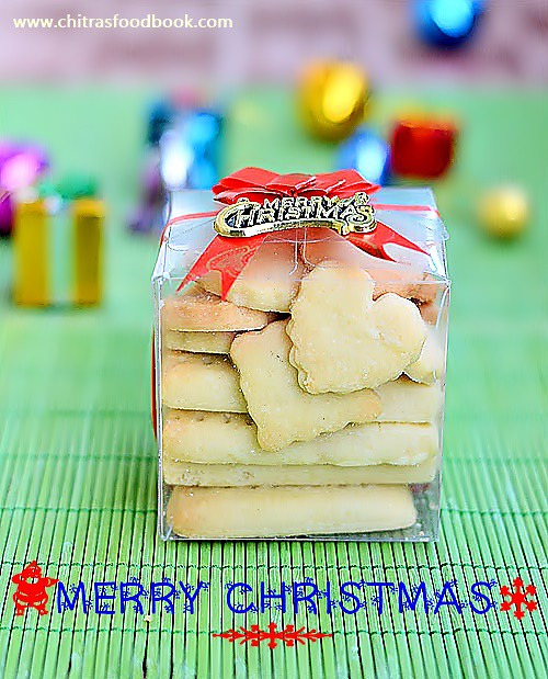 Shortbread cookies recipe eggless