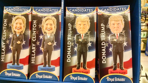 2016 Presidential Elections Bobblehead Dolls