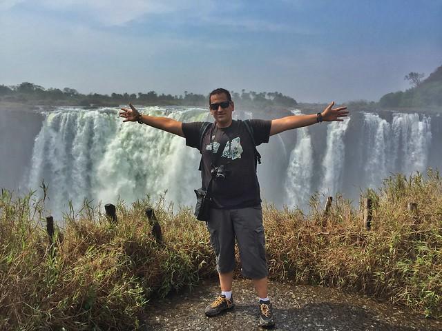 Sele en Cataratas Victoria (Zimbabwe)