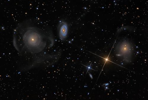 VCSE - Mai kép - Arp 227 galaxishalmaz