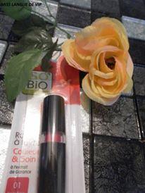 Rouge à lèvres Couleurs & Soin SO'BIO ETIC