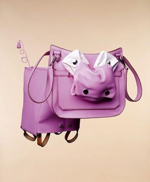 Animal Hermes handbags inspired creativity series