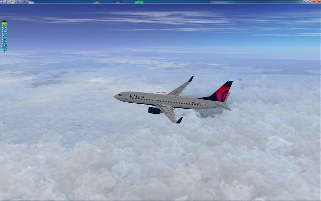 100 737 Flights