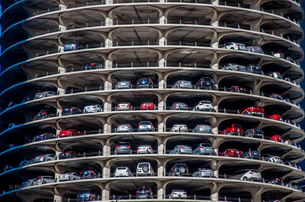 Marina City Car Parking Parking Lots Are Usually Not An